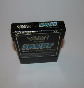 Smurf: Rescue in Gargamel's Castle [Cartridge Only] (Colecovision) Good Shape