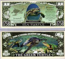 The Sea Turtle - Chelonioidea Series Million Dollar Novelty Money
