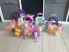 💫 LARGE BUNDLE OF MY LITTLE PONY TOY FIGURES  HASBRO EQUESTRIA 💫