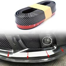 2.5M x 6CM Universal Carbon Fiber Car Bumper Lip Splitter Body Spoiler Protector