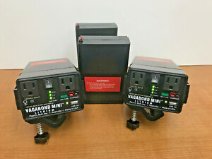 TWO Vagabond Mini™  Portable Power, TWO EXTRA BATTERY  . by Paul C. Buff, Inc