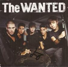 THE WANTED: JAY McGUINESS SIGNED 'THE WANTED' ALBUM SLEEVE+COA *PROOF*