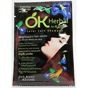 6 x OK Herbal Color Care Shampoo Ammonia Free