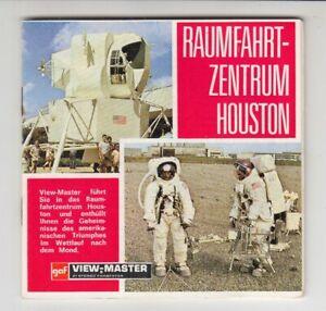 Raumfahrtzentrum Houston - View Master Scheiben (deutsch)