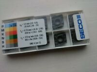 10 Seco carbide tips CNMM120412 W-R4 TP1500 ( CNMM 120412 12 04 12 CNMM433 cnmg