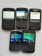 Joblots of 5 Blackberry Phones; 1 x 9000, 2 x 9720, 1 x 8330, 1 X 9320