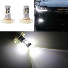 Xenon White 5202 PS24W 5202 HIGH POWER CREE Fog Light Projector LED Bulbs