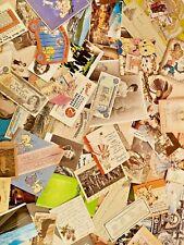 Paper Ephemera Mid Century Photos Cards Post Cards Blotters Calendar Religious