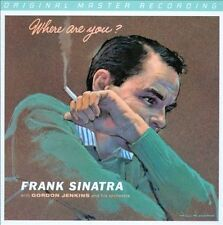 Where Are You? [Digipak] by Frank Sinatra (CD, Jan-2013, Mobile Fidelity...