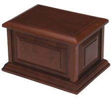 Large/Adult 230 Cubic Inches Cherry Wood Cremation Urn for Ashes