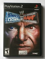 PS2 Playstation 2 - WWE Smackdown vs Raw - Complete - tested, working