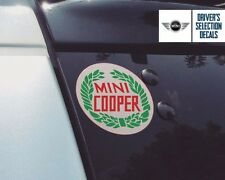 BMW Mini Cooper old logo sticker window decal graphics
