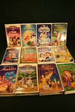 12 Walt Disney's Classic Movie Collection VHS  Black Diamond and Masterpiece