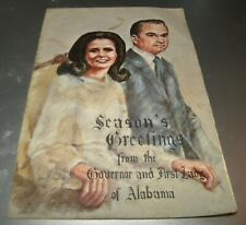 SEASON'S GREETINGS FROM THE GOVERNOR & FIRST LADY OF ALABAMA (GEORGE WALLACE)