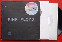 PINK FLOYD WISH YOU WERE HERE RARE GRAY/BLACK BAG EXYUGO LP N/MINT