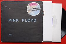 PINK FLOYD WISH YOU WERE HERE RARE GRAY/BLACK BAG EXYUGO LP N/MINT