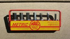 Vintage Mac Tools Metric 7 Pc Hex Allen Socket Driver Set 38 Xds Xt34y Usa