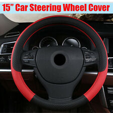 """15"""" Car Styling Embossing Steering Wheel Cover Protector  Four Season Universal"""