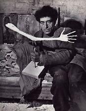 1934/68 Vintage ALBERTO GIACOMETTI Sculptor Switzerland France Art 8x10 BRASSAI