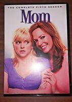 Mom: The Complete Fifth Season 5 (DVD, 2018, 3-Disc Set) Anna Faris