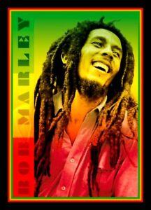 "4.5"" Bob Marley vinyl sticker. Reggae, Rasta, decal for skateboard, car, laptop."