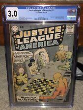 Justice League of America #1 CGC 3.0 DC 1960 Superman! Batman! Flash! G11 291 cm