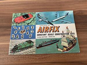 Airfix Constant Scale Construction Kits Catalogue Third Edition 1964 - Rare