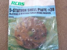 RCBS 5 Station Shell Plate #28 Unused in Package PRO2000, Ammomaster & Piggyback