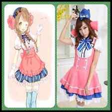 Love Live Minami Kotori Cosplay Costume Halloween Lolita Dress Maid Uniform
