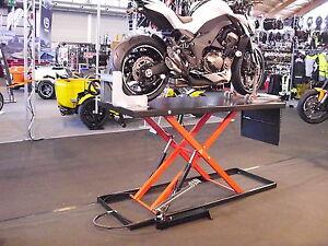 Hydraulische Hebebühne 500kg Motorradheber Motorrad-hebebühne Motorbikelifter