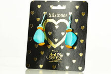 NEW AnUNe- For You Silstones Earrings No 104, 1 Pair, Silicone Jewelry, women