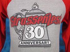 vintage 80s STRASSENFEST JASPER INDIANA JERSEY T-Shirt XS/SMALL german beer thin