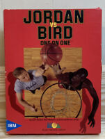 "Jordan vs Bird One on One IBM PC Tandy EA 1988 CIB 5.25"" & 3.5"" Disks"