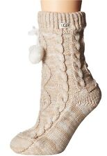 Womens UGG Pom Pom Fleece Lined Sock - Different Color Available [1014832]