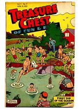 Treasure Chest of Fun and Fact Volume 5 #17    First Dip of the Season