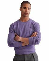 Polo Ralph Lauren Men's Purple Washable 100% Cashmere Crew-Neck Sweater $248 XL