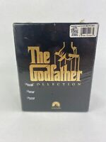The Godfather Collection (VHS, 1992, 6-Tape Set) Brand New Factory Sealed