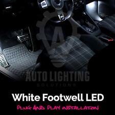 For VW Golf MK5 MK 5 05+ White Interior Footwell LED Light Bulbs *SALE*
