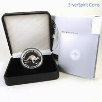 2013 $1 KANGAROO 20th ANNIVERSARY EDITION Silver Proof Coin