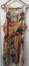 Supre Size L Colourful Casual Summer Sundress Beach Dress EUC
