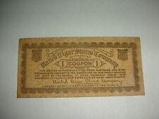 United Cigar Stores Company  - 1 Coupon