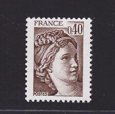 FRANCE N° 2118a ** MNH, Variété sans bande de Phosphore, TB, cote: 8 €