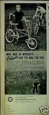 """1969 Columbia Mad """"MACH"""" Bicycles~Swinging Line~Six Types Boys Models Bikes AD"""