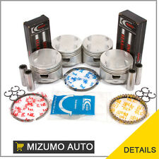 Fit 91-98 Mazda Protege Miata Ford Escort 1.8 BP Pistons Rings Main Rod Bearings