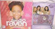 NEW CHEETAH GIRLS TOY LOT RAVEN TOYS GAME MAKE UP SET BASKET SUPPLIES