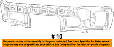 Ram CHRYSLER OEM 13-14 1500 Bumper Face-Foam Impact Absorber Bar 68145441AC