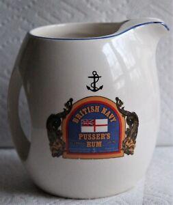 Pusser's Rum Pitcher British Navy 2