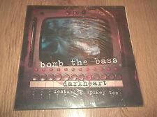 """BOMB THE BASS ft SPIKEY TEE """" DARKHEART """" 12"""" BREAKBEAT 5 TRACKS EX/EX 1994"""
