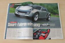 Auto Bild 16325) Smart Roadster Coupe mit 82PS im Fahrbericht auf 3 Seiten