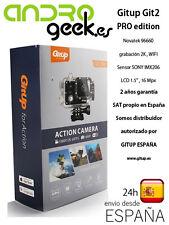 Camara deportiva GITUP GIT2 PRO edition. 2 AÑOS GARANTIA OFICIAL GITUP ESPAÑA